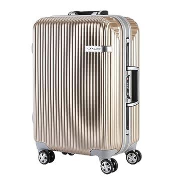 Maletas Ligeras con Abs + Pc Travel Rolling Trolley Case - Rueda Universal Maleta Resistente A