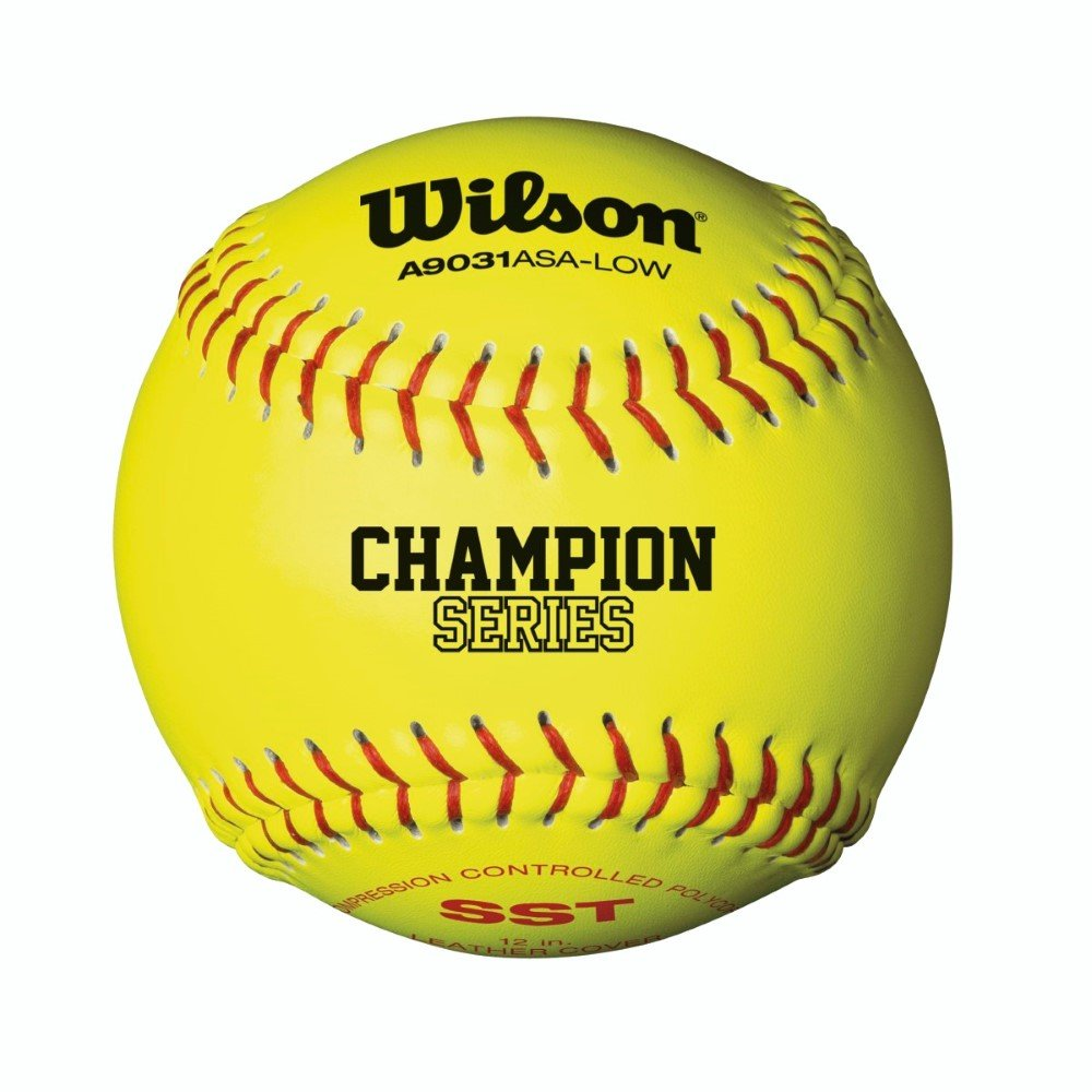 Wilson A9031 ASA Low ASA Optic Yellow Fastpitch A9031 Softball Low 12 Pack B0030GOUWK, INDOOR:1092c486 --- sayselfiee.com
