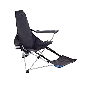 McKINLEY Chaise Pliante Relax Anthracite