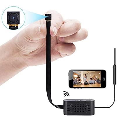 Mini cámara espía Cámara de Seguridad Oculta WiFi Cámara inalámbrica Nanny pequeña cámara portátil con detección