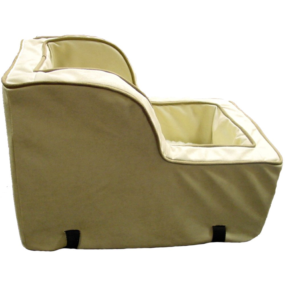 Snoozer Luxury High Back Console Lookout, Buckskin with Java Cording, Large