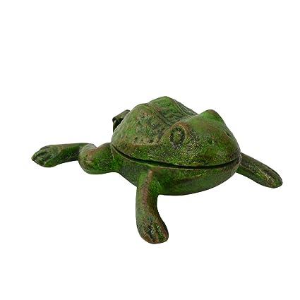 Amazon com : TreasureGurus, LLC Metal Frog Outdoor Hide A Spare Door