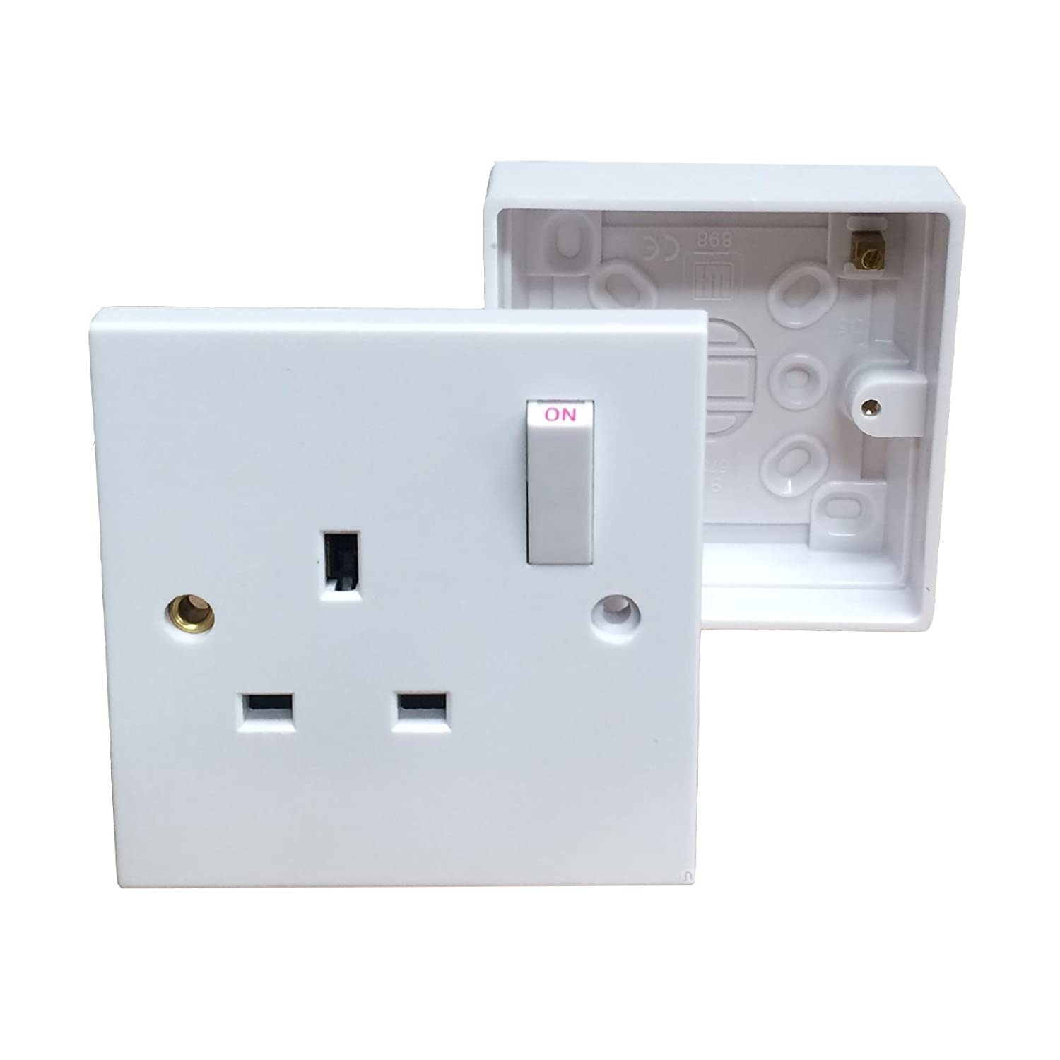 Single Wall Socket  for Wall Switches And Sockets  113cpg