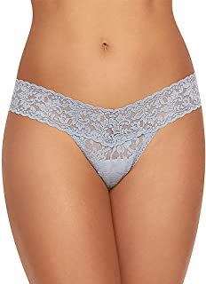 product image for Hanky Panky Women's Petite Low Rise Thong 4911XS O/S Shining Armor