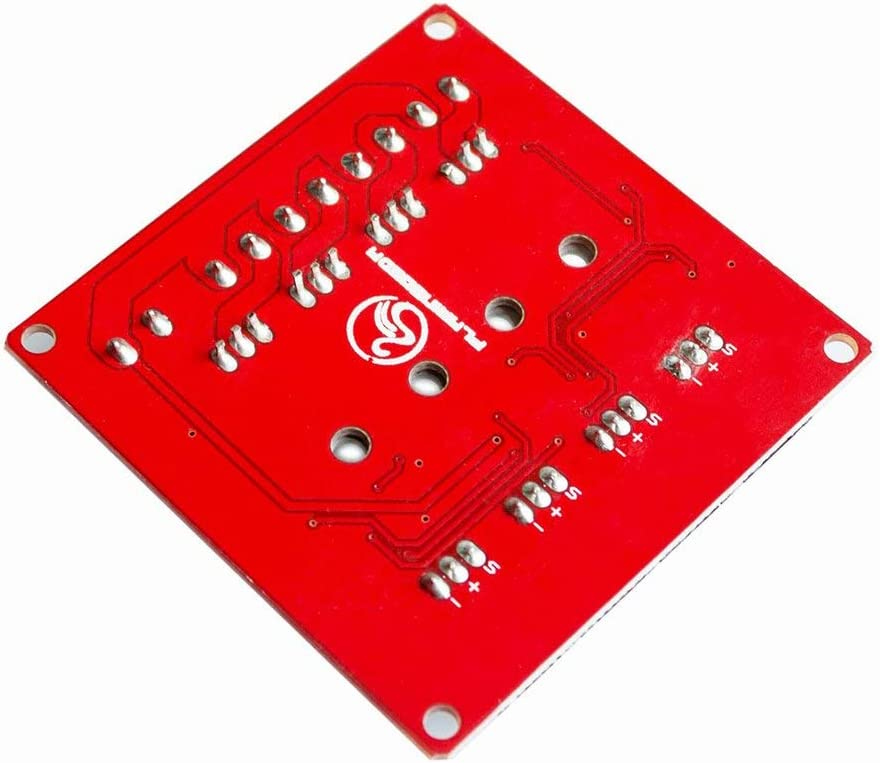 MOSFET-Schaltmodul Arduino Heaviesk 4-Kanal 4-Wege-MOSFET-Taster IRF540 V2.0