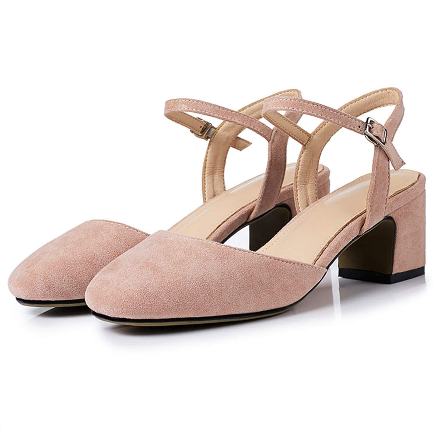 3-203 Lotus Pink shoes Cover Square Toe Sexy Slingback Summer shoes for Women Sandal
