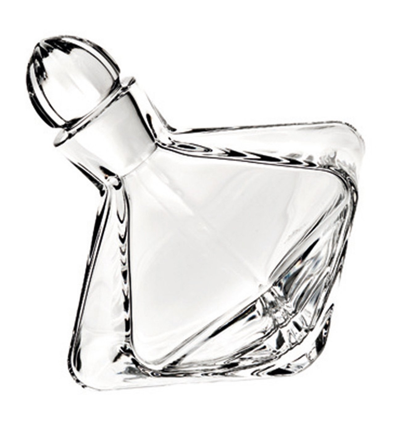 VISTA ALEGRE - Carroussel - Whisky Decanter (Ref # 48000017) Handmade Crystal by Unknown
