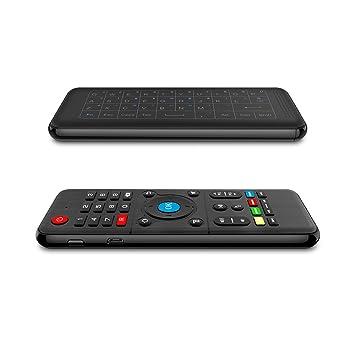 Haihuic Mini Teclado inalámbrico Air Remote Mouse Control ...