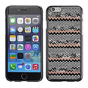 Paccase / SLIM PC / Aliminium Casa Carcasa Funda Case Cover - Pattern Wallpaper Native People - Apple Iphone 6
