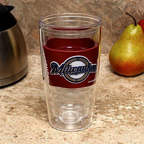 Milwaukee Brewers 16oz. Tritan Slim Cup with PVC Wrap