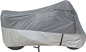 Dowco Guardian 26036-00 UltraLite Plus Water Resistant Indoor/Outdoor Motorcycle Cover: Grey, Large