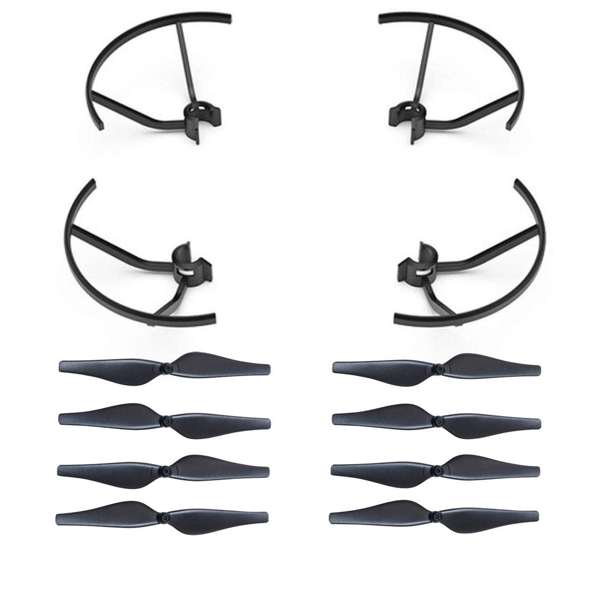 Helices para drone DJI Tello (8 helices y 4 protectores)