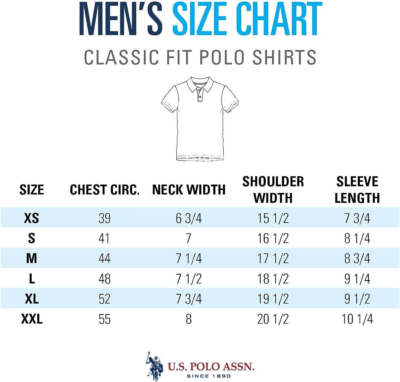 US Polo Assn. Mens Engineered Birdseye Stripe Pique Polo Shirt