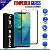 Huawei Mate 20 Pro Full Coverage Tempered Glass Screen Protector 3D Glass Screen Protector (Black)