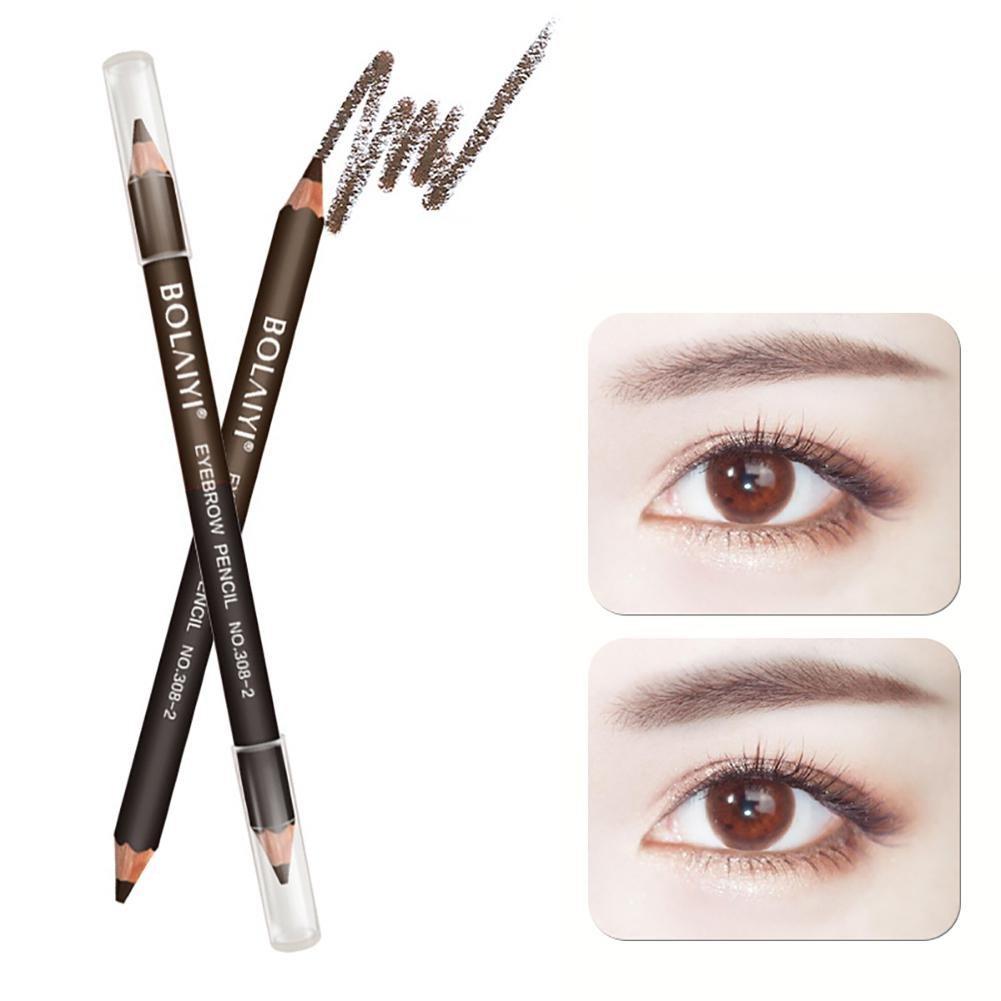 Amazon Double Ended Eyebrow Pencil Aolvo Waterproof Drawing