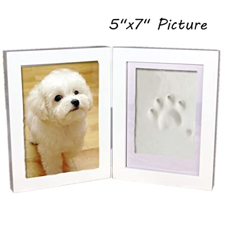 Haosen 5x7 Wooden Pet Memorial Photo Frames Hanging Picture Frames ...