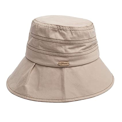 d6305ff3d7850 MXD Sombrero Verano Mujer Protección Solar Sombrero Sombrero Viajes Mar  Sombrero sombrilla Plegable Sombrero de Playa