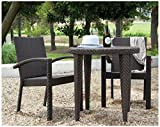 Hospitality Rattan 3 PC SET-903-D Soho 3 Piece Dining Bistro Group Review