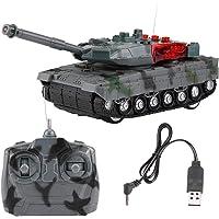 Dilwe Tanque RC, Eléctrico 4 Canales Simulación Tank