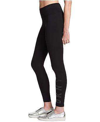 f9eda66c86042 DKNY Sport Womens Running Workout Athletic Leggings Black XL at ...