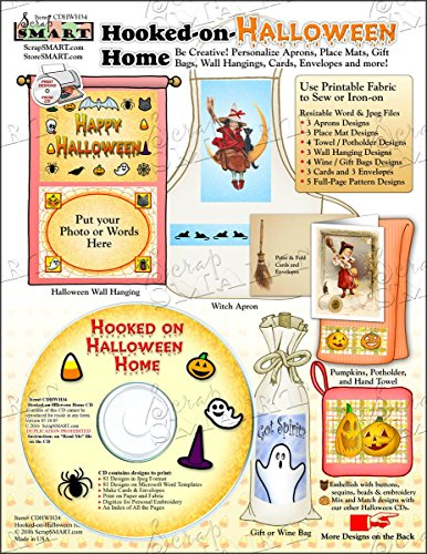 ScrapSMART - Hooked-on-Halloween Home - Software Collection - Jpeg & MS Word files (CDHWH34)]()