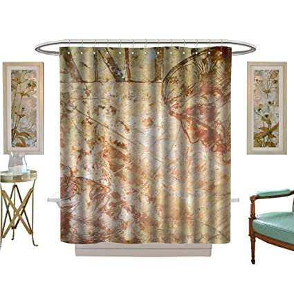Custom Made Shower Curtains.Amazon Com Luvoluxhome Shower Curtains Waterproof