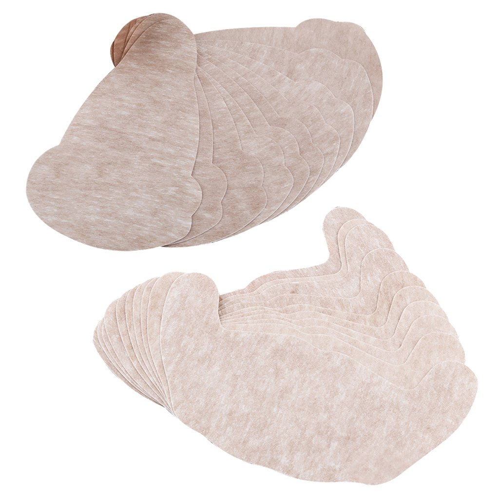 Jili Online Pack of 20 Pear & U Shape Self-Adhesive Invisible Push Up Bra Breast Enhancer Pads at Amazon Womens Clothing store: