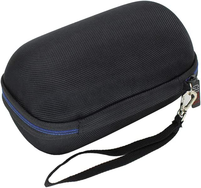 Black Hard Travel Case Bag for Ultimate Ears WONDERBOOM Super Portable Waterproof Bluetooth Speaker by GUBEE