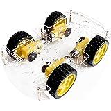 Arduino 4輪駆動 スマートカー 車体キット ロボットカー ArduinoやRaspberryPiで応用できる汎用的な4WD車体 スマートカーシャーシキット smart car