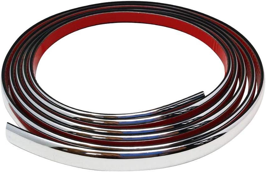 Rouge 11 mm x 5 MT Quattroerre 31865 Profil Universel pour Voiture avec 3M APT Double Adh/ésif