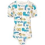 Amazon.com: Snappies playera, S, Azul: Clothing