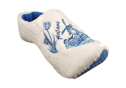 Zapatillas mujer holandeses blanco: Amazon.es: Zapatos y ...
