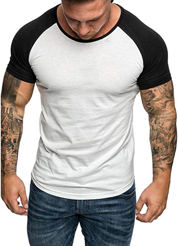 Cysincos Camisa Suelta Hombre de Manga Corta Camisa Deportiva Casual de Color Sólido Camiseta Cosisa Slim Fit Formal Diseño Moderno y Elegante Blusa Básica Superior Transpirable para Verano: Amazon.es: Ropa y accesorios
