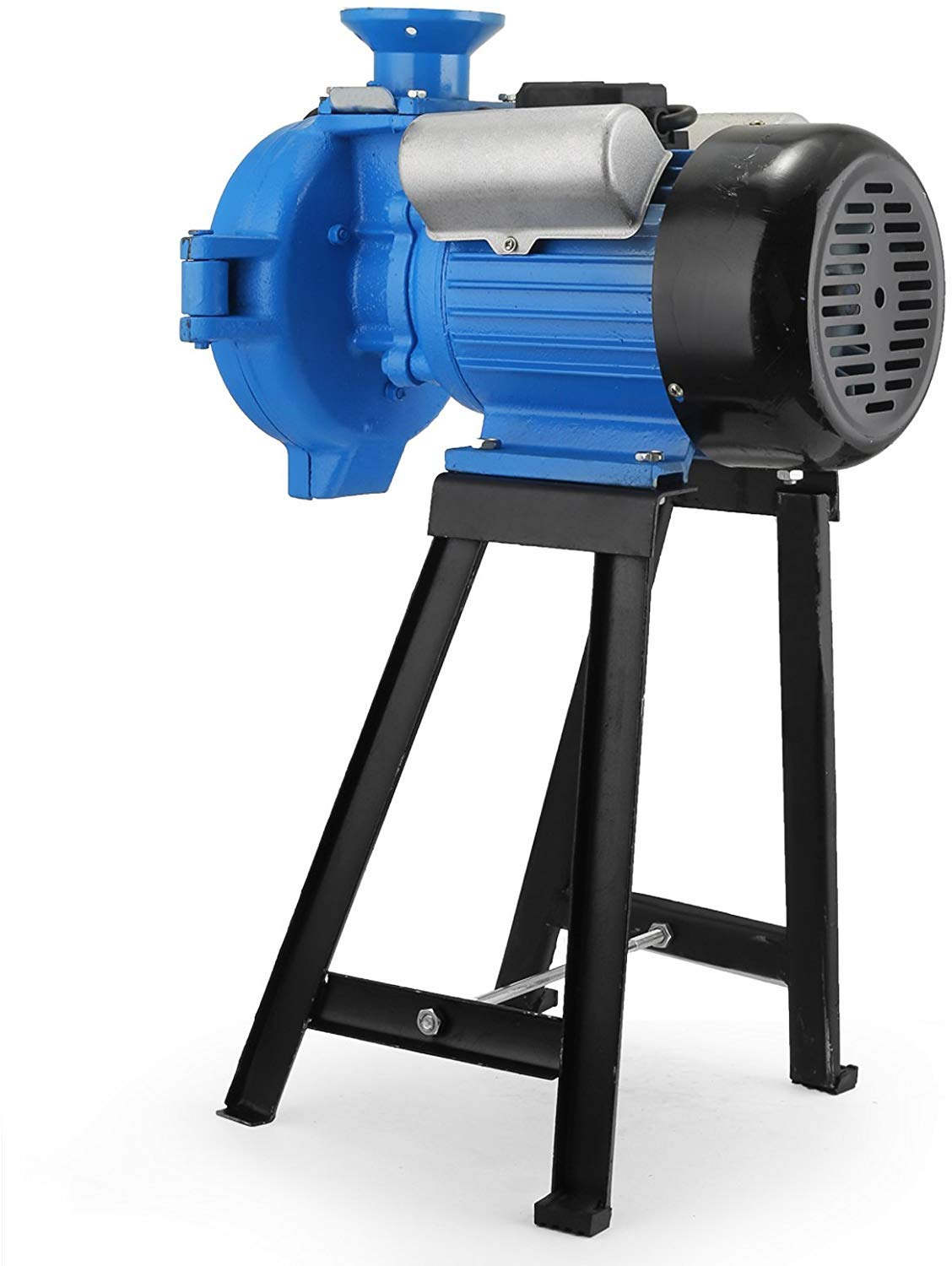 Happybuy Feed Mill Electric Funnel Cereals Grinder Funnel For Industrial Use Feed Mill Technology for Corn Grain Rice Wheat Coffee Beans 220V