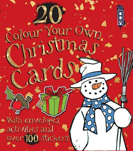 Colour Your Own Birthday Cards With Envelopes Amazon David