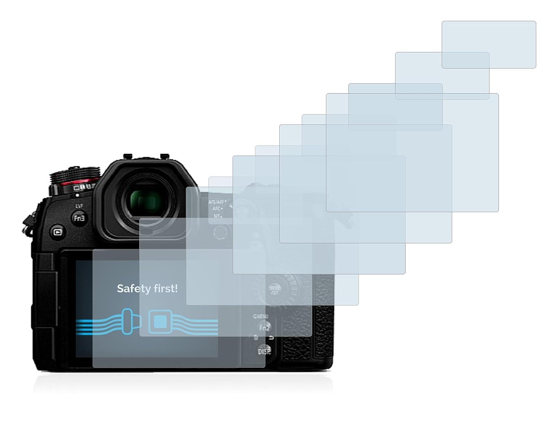 6x Canon Digital Ixus 185 Protector Pantalla Pelicula Protectora Transparente