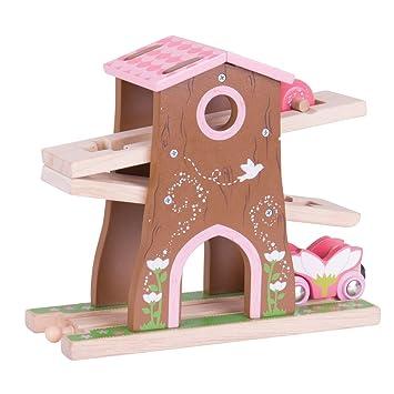 Bigjigs Rail Wooden Pixie Dust Tree House - Wooden Train Set ...