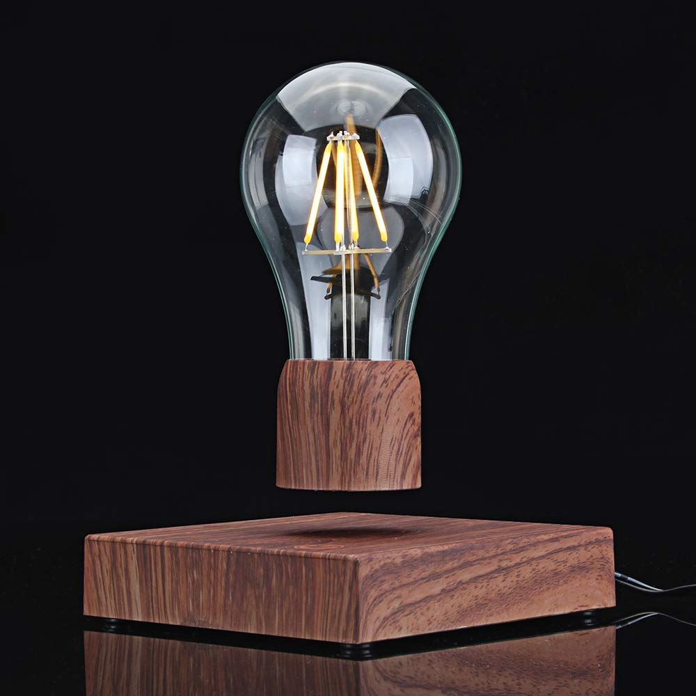 Disumos Magnetic Levitating Lamp Magnetic Levitating Floating LED Bulb Night Light Gift Home Desk Lamp Decor AC110-240V - UK Plug by Disumos (Image #7)