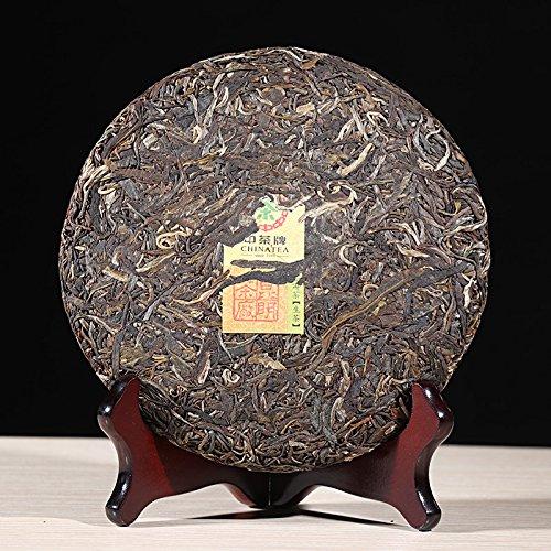 2017 Chinese Tea Wuban Zhang Raw Tea 357g/cake Yunnan Qizi Cake Banzhang Tea 2017年中茶 武班章 生茶 357克/饼 云南七子饼 班章 生茶 by 中茶 (Image #1)