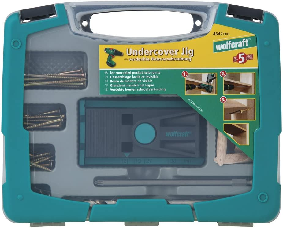 Wolfcraft 4642000 Undercover Jig Set