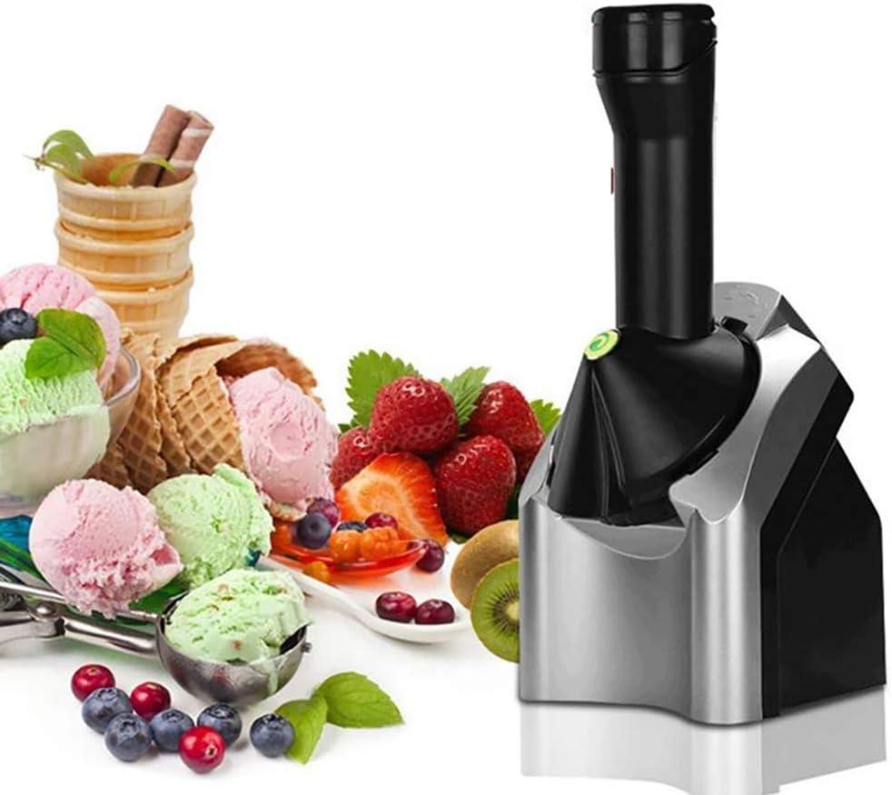 Frozen Fruit Ice Cream Maker, Home Ice Cream Machine Portable Household Use Sorbet Dessert Fruit Frozen Yogurt Soft Serve Magic Butter Machine