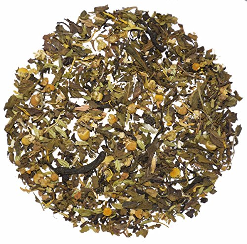 The Indian Chai - Belly Soothing Loose Leaf Herbal Tea, Soothes Tummy and Promotes Digestion, (400 Mg Nutrition Herbs)
