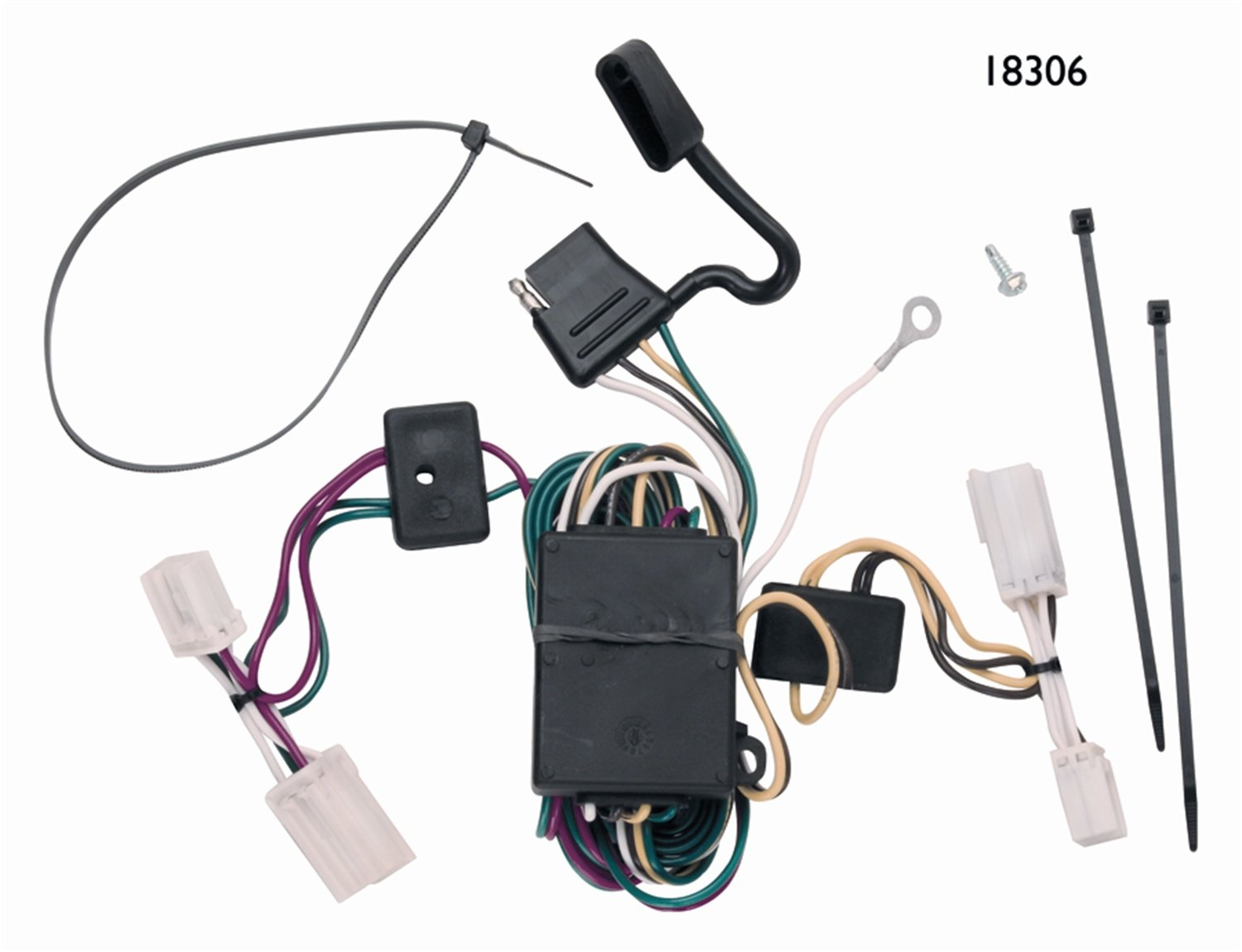 61dXXexK0aL._SL1500_ amazon com vehicle to trailer wiring connector for 03 06 vehicle specific trailer wiring harness at gsmx.co