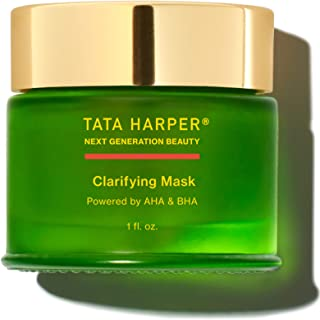 product image for Tata Harper Clarifying Mask, Salicylic Acid & Lactic Acid Blemish Treatment, 100% Natural, Made Fresh in Vermont, 30ml