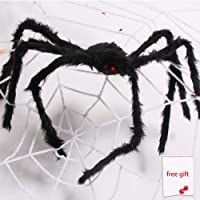 AmyHomie Halloween Spider Web Giant Spider Decorations Best Hallowa's Christmas Decor