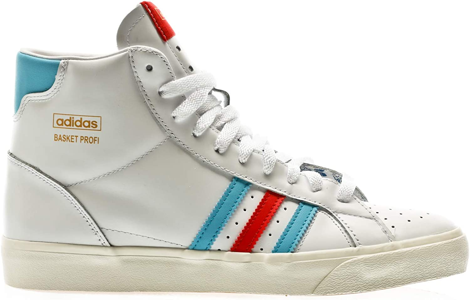 adidas Originals Basket Profi, Footwear White Red Gold