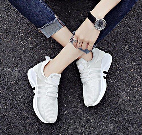 MEI I pattini di autunno di autunno di scarpe casuali traspiranti di scarpe da corsa degli allievi mette in rete i pattini molli del panno , US7.5 / EU38 / UK5.5 / CN38