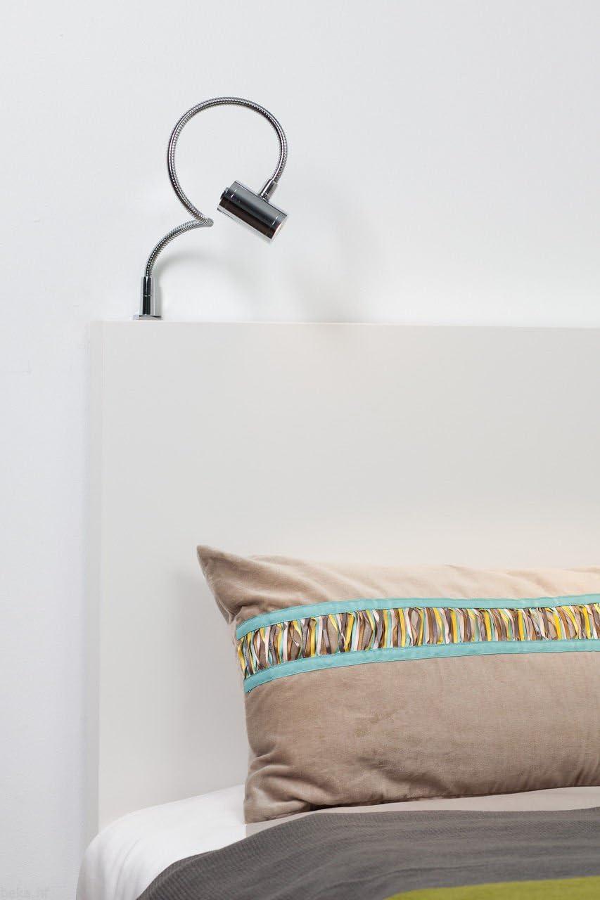 SET Lampada da letto a LED da 3W Lampada da lettura Lampada flessibile Lampada da comodino Lampada da letto Lampada da lettura SET da 1 pezzo