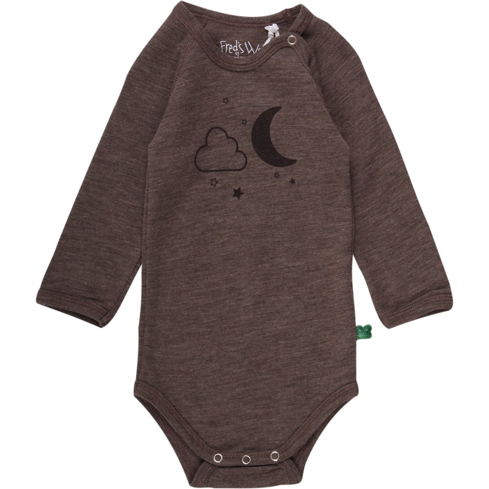 Freds World by Green Cotton Unisex Baby Wool Formender Body