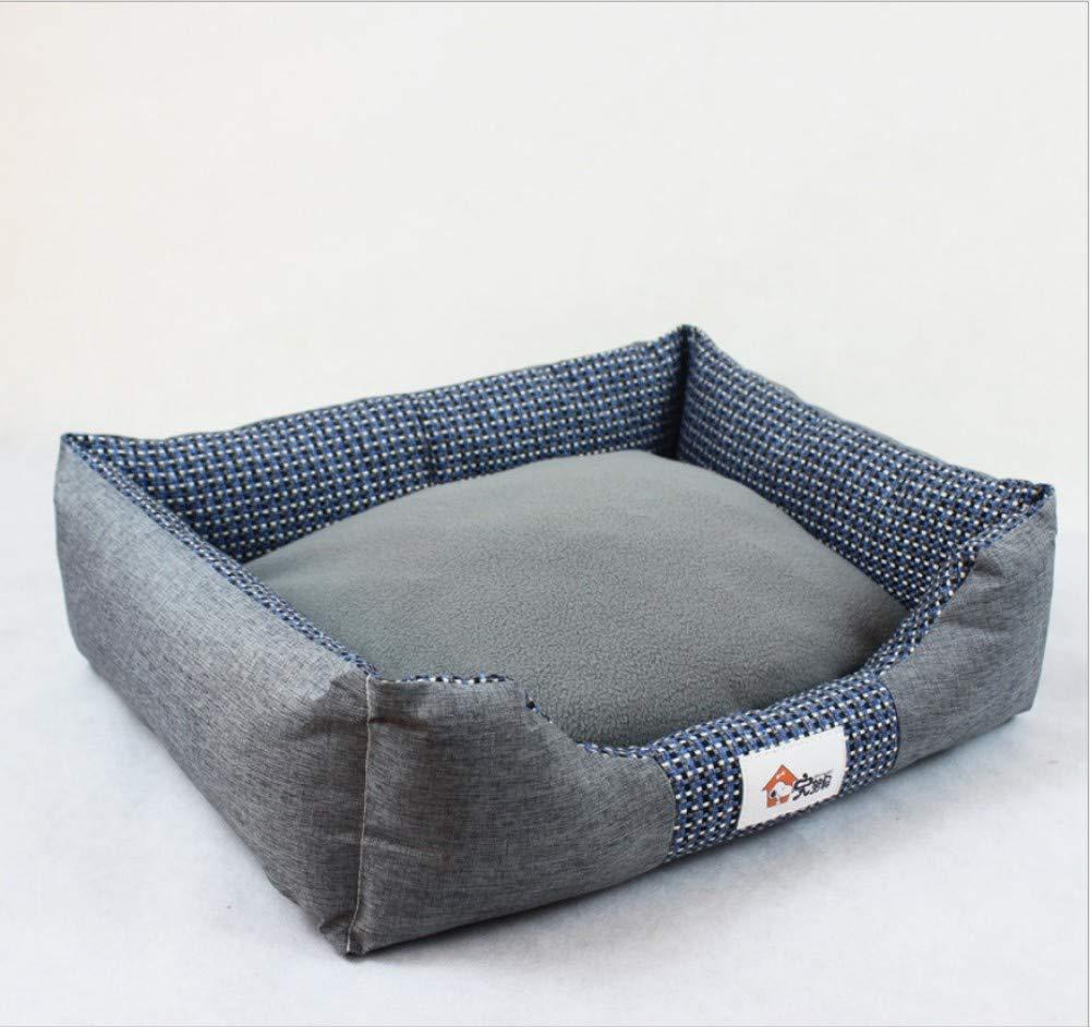 B S(50X40X18CM) B S(50X40X18CM) GZDXHN Dog House Removable And Washable Pet Nest Creative Square Dog Bed Dog Mat Medium Large Dog Pet Supplies